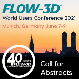 FLOW-3D World Users Conference 2021