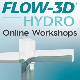 FLOW-3D HYDRO Online Workshops